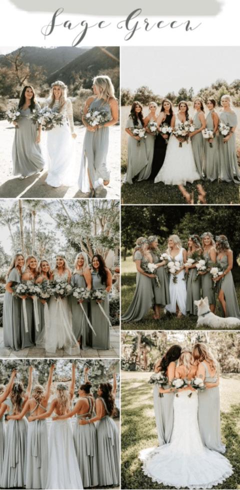 summer color pallet for weddings